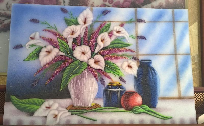 Vietnamese gemstone-painting