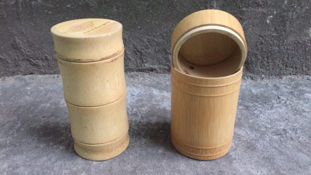 Round bamboo box Vietnam