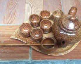 coconut teapot