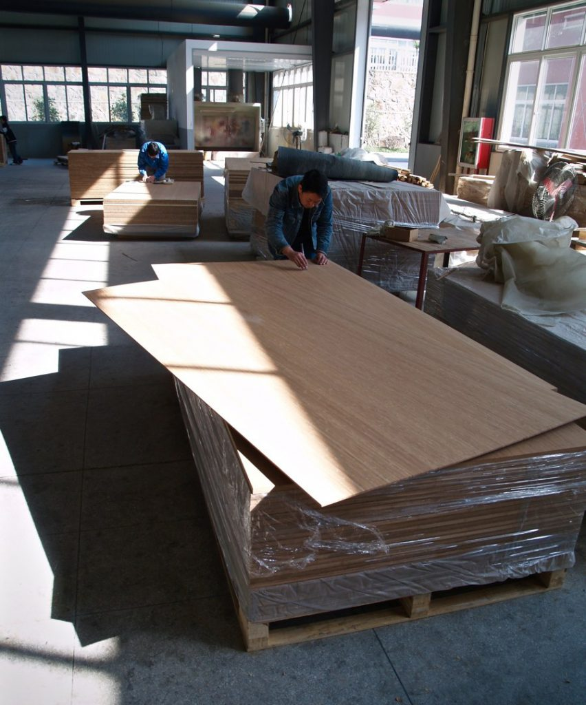 bamboo panel production step 9 Quality control before shipment