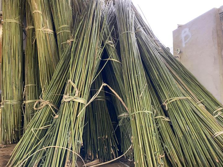 Vietnam straws bamboo material