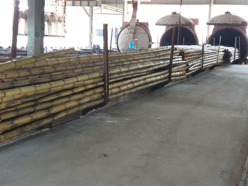 processing bamboo